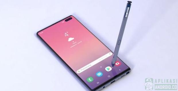 Bocoran Galaxy Note 10, Tanpa Tombol dan Colokan Earphone
